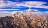 View of Mt. Vihren, the highest peak in Eastern Europe poster