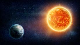 stock photo of planetarium  - Planet Earth - JPG