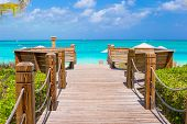 foto of caribbean  - Beautiful landscape on Providenciales Island in the Turks and Caicos - JPG