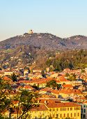 foto of turin  - View of Turin in the evening  - JPG