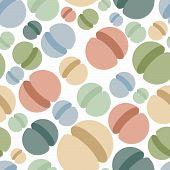 pic of hemisphere  - Sphere seamless pattern - JPG