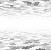 picture of grids  - Perspective grey and white grid - JPG