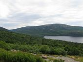 stock photo of acadian  - Mountain Scenery view taken at Acadian National Park in Maine - JPG