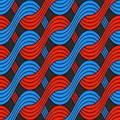 pic of interlocking  - Seamless geometric background - JPG