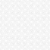foto of interlocking  - Seamless stylish geometric background - JPG