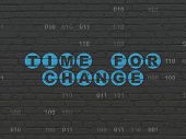 picture of binary code  - Time concept - JPG