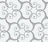 image of swirly  - Seamless abstract geometric background - JPG