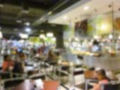 image of canteen  - blurry defocused image of canteen for background - JPG