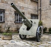 stock photo of artillery  - A CORUNA SPAIN  - JPG