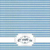 picture of solemn  - german Oktoberfest background with banner and text O - JPG