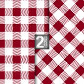picture of no clothes  - Table Cloth Italian Red Vector Seamless Pattern Set of 2 - JPG