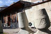 stock photo of rumi  - The convent of Mevlana in Konya  - JPG