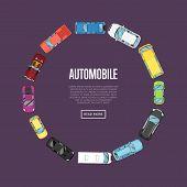automobile poster