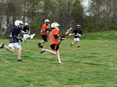 image of little-league  - a Little League game of Lacrosse being played - JPG