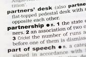 Dictionary Definition Of Partnership