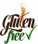 foto of wheat-free  - Gluten free life message - JPG