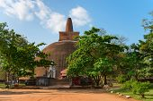 Giant Stupa The Ancient City Anuradhapura, Sri Lanka
