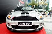 Bangkok,thailand - August17 : Mini Cooper S  Displayed At The Siam Paragon Department Store  Event S