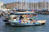 Fishing boats at Fethiye