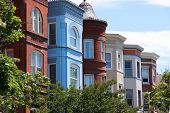 stock photo of tenement  - Washington D - JPG