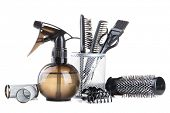 foto of bobbies  - Professional hairdresser tools - JPG