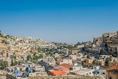 SALT, JORDAN - MAY 6, 2013: panorama of the city of Salt in Jordan