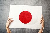 foto of japanese flag  - Japan flag - JPG