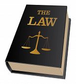 image of proceed  - Illustration of a law book used by lawyers and judges - JPG
