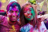 picture of holi  - Delhi - JPG