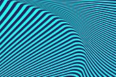 Abstract textured striped op art background. Illustration.