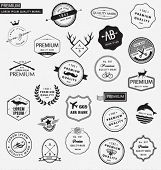 Collection of premium labels