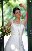 Beautiful Young Adult Bride
