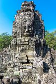 Stone Faces at Bayon Temple (Prasat Bayon)
