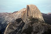 pic of granite dome  - Half Dome - JPG