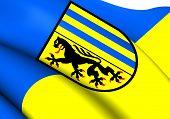 image of leipzig  - 3D Flag of Leipzig - JPG