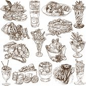 stock photo of whip-hand  - A hand drawn full sized illustratons - JPG