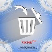 pic of dust-bin  - Trash bin - JPG