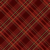 picture of tartan plaid  - Abstract Seamless Pattern with Plaid Fabric on a dark brown background. 