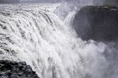 picture of enormous  - Dettifoss a waterfall with enormous volume in north Iceland - JPG
