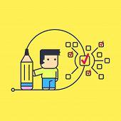 image of tasks  - small tasks to perform large tasks - JPG