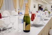 picture of banquet  - Banquet facilities table setting - JPG