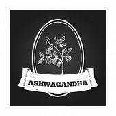 foto of ashwagandha  - Health and Nature Collection - JPG