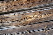 pic of timber  - Close up of a old timbered hose and the strucure of the timber after centuries - JPG