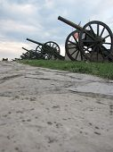 foto of cannon  - old war cannon on Kalenegdan in Belgrade - JPG