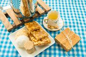 stock photo of brazilian food  - Table with some Brazilian delicious - JPG