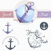 stock photo of anchor  - Anchor logo - JPG
