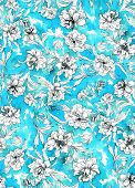 pic of interpreter  - seamless abstract floral pattern design - JPG