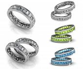 picture of rings  - Set of rings - JPG