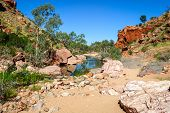 Постер, плакат: Simpsons Gap australia Northern Territory
