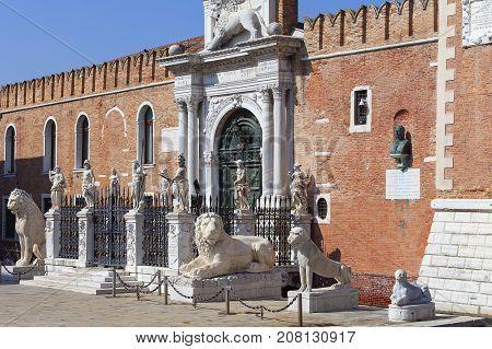Venetian Arsenal old